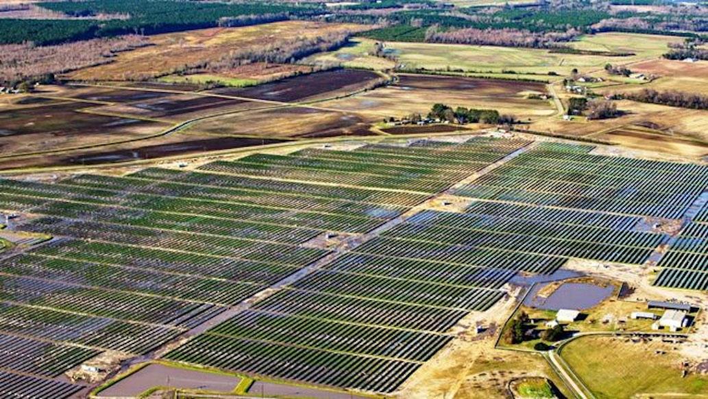 Conetoell Solar Field
