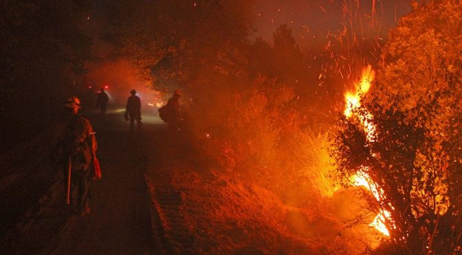 Wildfire becomes more intense and frequent, over a longer burn season, as a result of climate change